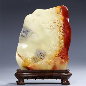 寿山芙蓉石摆件  指日高升(1604760)