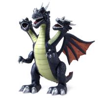 三头翼龙会走路的玩具恐龙玩具儿童电动仿真动物模型