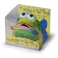 Monday the Bullfrog: A Huggable Puppet Concept Book about th