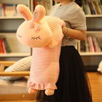 兔子毛绒玩具长抱枕睡觉垂耳兔玩偶公仔布娃娃女孩生日礼物女生