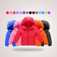 【10万+妈妈的选择】0-14岁儿童轻薄款羽绒棉服女童棉衣2019冬季新款棉衣中大童保暖儿童棉袄