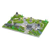 小房子迷你手工玩具屋锦绣江南古典园林创意模型
