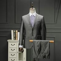 砖柜剪标下架男士春款结婚伴郎套西亮色系西服套装两粒扣西装外套