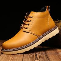 【冬季新品】冬季新款男加棉马丁靴 韩版潮男加厚加绒男士棉鞋保暖男士棉靴882-1JQSL