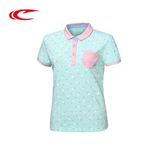 赛琪短袖T恤 夏季 女 正品2016新款棉时尚短袖针织polo衫 女
