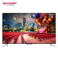 夏普(SHARP) LCD-70SU665A 70英寸4K超高清 wifi智能网络平板液晶电视机