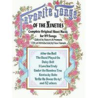 【预订】Favorite Songs of the 1890s