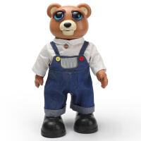 会唱歌说话的玩具男女孩儿童电动遥控动物机器人仿真变脸大熊