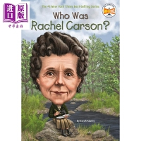 【中商原版】谁是蕾切尔・卡逊 Who Was Rachel Carson 儿童科普文学 章节书 桥梁书 英文原版 7-1