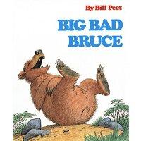 【全店300减100】英文原版 Big Bad Bruce 大坏熊布鲁斯 汪培�E推荐第五阶段儿童英语启蒙阅读绘本