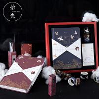 32K日式复古樱花手账本 日系少女心古典中国风手帐本笔记本子文具