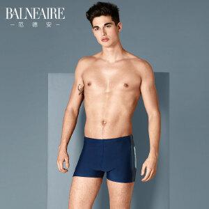 范德安大码男士泳裤 低腰性感时尚游泳衣 沙滩裤速干平角游泳裤