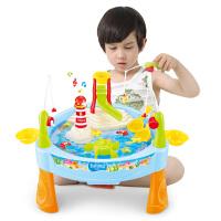 儿童钓鱼玩具池套装男女孩1236岁宝宝小猫电动钓鱼磁性益智玩具