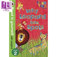 【中商原版】小飘虫独立阅读:李奥尼:为什么豹子有点WhyLeopardHasSpots 独立阅读分级读物亲子绘本故事书