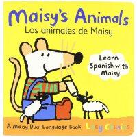 Maisy's Animals Los Animales de Maisy(Boardbook)小鼠波波的动物们(英语