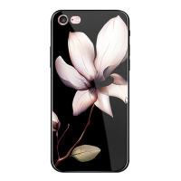 iphone7plus手机壳玻璃苹果6男女8p硅胶套6sPlus全包