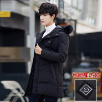 棉衣男士外套冬季2018新款韩版潮流帅气连帽短款冬装加厚棉袄