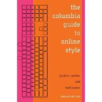 【预订】The Columbia Guide to Online Style