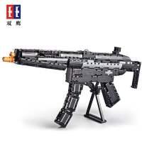 双鹰积木伽兰德步枪M4A1MP5拼插仿真二战玩具软弹枪狙击枪C81006