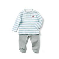 童装儿童家居服套装春装男童保暖睡衣婴儿两件套