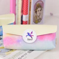梦幻星空大容量个性笔袋小清新学生笔盒女韩国创意文具用品