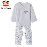PMU1853047大嘴猴(paul frank)婴儿纯棉系带套装薄款内衣