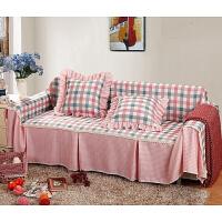 三人沙发罩沙发套家居布艺组合沙发套全盖布全包沙发床套现代简约