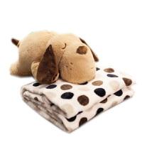 卡通抱枕被子两用靠垫汽车珊瑚绒办公室空调被靠枕毯午睡枕头可爱