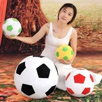 仿真足球毛绒玩具创意布娃娃靠垫抱枕儿童生日礼物男生送老公男友