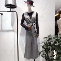 2019新款女装春装法国打底秋冬两件套连衣裙子 拍下备注主播给的编码