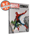 漫威漫画海报合集 英文原版 Marvel Comics: The Poster Collection 钢铁侠雷神蜘蛛侠
