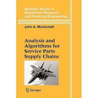 【预订】Analysis and Algorithms for Service Parts Supply Y978144