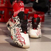 【券后价419】安踏可口可乐联名款女鞋子秋冬新花色限量版休闲鞋122018088S