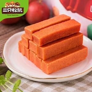 【三只松鼠_小贱山楂条208gx2】休闲零食特产果脯蜜饯小包装