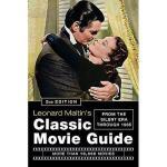 【预订】Leonard Maltin's Classic Movie Guide: From the
