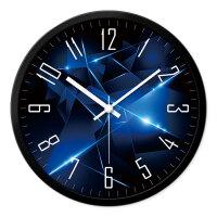 挂钟客厅现代创意时钟静音卧室钟表时尚简约个性石英钟挂表