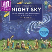 【中商原版】夜空观星图A Childs Introduction to the Night Sky原版进口科普精品绘本