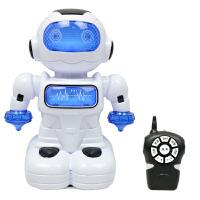 电动遥控机器人玩具讲故事灯光跳舞男孩机器人玩具