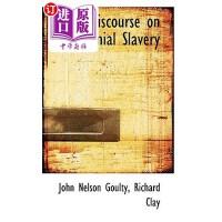 【中商海外直订】A Discourse on Colonial Slavery