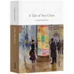 双城记A Tale of Two Cites(全英文原版,世界经典英文名著文库,精装珍藏,英国作家狄更斯代表作)【果麦经典】