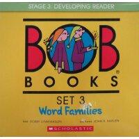 Bob Books Set 3: Word Families 英文原版 鲍勃书套装3:词族