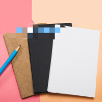 DIY空白明信片制作水彩卡片纸 单词卡空白手绘贺卡牛皮纸卡片