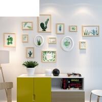 客厅创意相框挂墙组合小清新背景墙相册片墙欧式照片墙ins装饰品