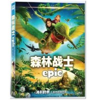 正版 蓝光碟森林战士乔什・哈切森1080P高清蓝光dvd电影碟片