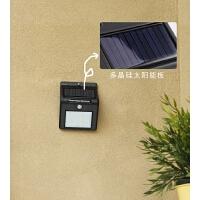 户外LED壁灯家用防水感应灯庭院景观太阳能路灯