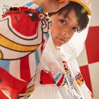 【2件3折到手价:80.7元】小虎宝儿男童外套夏季儿童防晒衣韩版休闲透气薄款中大童2020新款