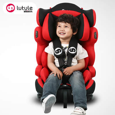 路途乐儿童安全座椅汽车用婴儿宝宝车载坐椅9个月-0-4-12岁isofix