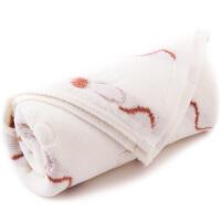 三利 提花纹样割绒 纯棉毛巾