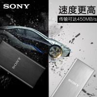 Sony/索尼固态移动硬盘256G SL-BG2 USB3.1 外置迷你高速 SSD