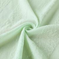 透光不透人纯白色窗纱帘布料成品定制现代简约卧室客厅落地窗帘纱